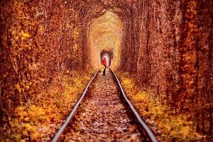 Tunnel of Love west Ukraine